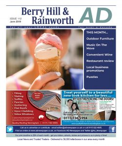 Ad Newspaper Berry Hill Mansfield Nottingham June 2019