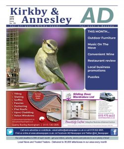Ad Newspaper for Kirkby in Ashfield Mansfield Nottingham June 19
