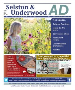 Ad Newspaper Selston and Underwood Mansfield Nottingham June 19