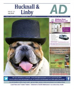 Ad Newspaper For Hucknall and Linby Mansfield Nottingham July 19