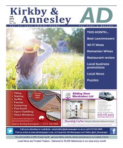 Ad Newspaper for Kirkby in Ashfield Mansfield Nottingham July 19