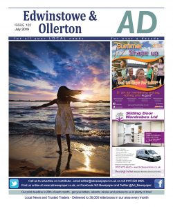 Ad Newspaper Edwinstowe Ollerton Mansfield Nottingham July 2019