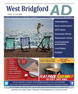 Ad Newspaper West Bridgford July 2019