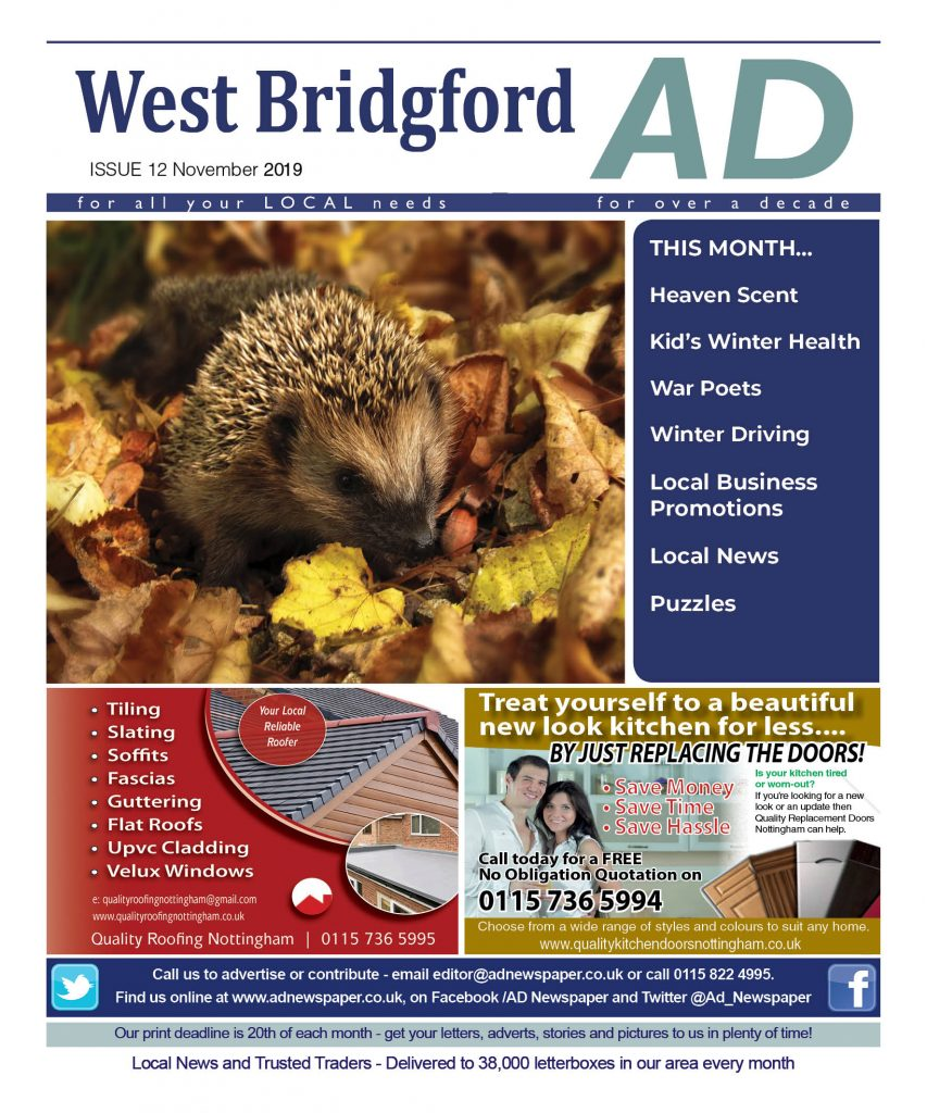 advertising magazine for west bridgford nottingham november 2019